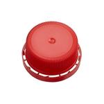 Image de Bouchon à vis 40mm inviolable rouge