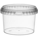 Picture of TP Plastic pot rond 565ml met veiligheidssluiting inclusief deksel