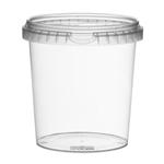 Picture of TP Plastic pot rond 870ml met veiligheidssluiting inclusief deksel