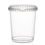 Picture of TP Plastic pot rond 1025ml met veiligheidssluiting inclusief deksel