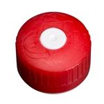 Afbeeldingen van Schroefdop DIN38KV TE rood/wit met inlage