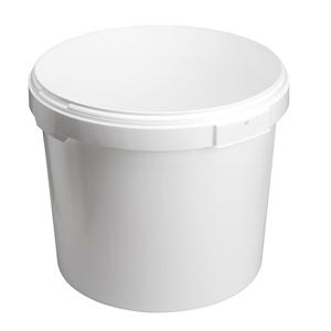 Image sur Seau 25L blanc avec anses