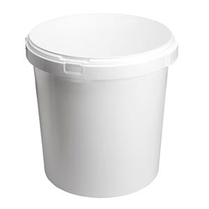 Image sur Seau 30L blanc avec anses
