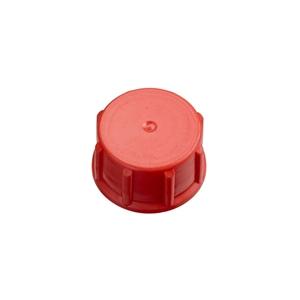 Image sur Bouchon à vis DIN28/410 rouge