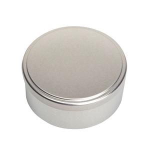 Image sur Boîte en métal cylindrique ø 90mm x 50mm avec coiffant