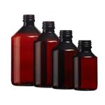 Afbeelding voor categorie Flessen Veral PET Amber