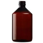 Image de Flacon veral PET brun 1000 ml PP 28 par 56
