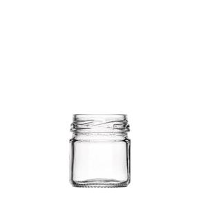 Image sur Pot portion 42ml verre TO43 transparent